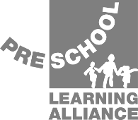Pre-school Learning Alliance Logo Grey